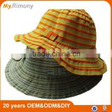 100% polyester kids straw hat two color available from myrimony
