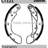 auto parts GS8543 16 05 953 for Daewoo Opel rear knott brake shoes