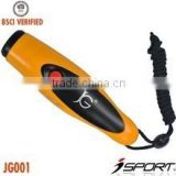 Two Loud Sounds Electronic Custom Wholesale Plastic Soccer Whistle