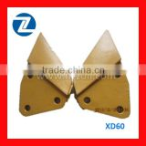 XD60 3holes side milling cutter side edge cutter for excavator