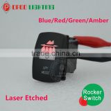 Factory sell rocker switch t85,Laser Etched ON/OFF ARB Carling rocker switch t85