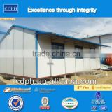 Cheap Chinese Prefabricated house prices with elevated base system or raised floor system used as camp accommodation