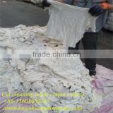 High quality white cotton wiping rags for industrial cleaning