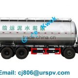 High quality bulk cement tanker transport truck for dry bulk cement powder