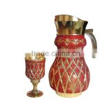high quality glassware set /water set with sand/drinking set