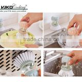 Hydraulic Dishwashing Brush Cleaning Liquid Can Be Added/ Cleaning Brush For Kitchen