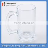 LongRun 11oz draught beer mug transparent glass with logo manufacturer