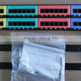 48K patch panel for Cabinets with Screw Nuts, 48 port patch panel