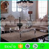 2015 lateset home furniture, classic wood frame leather sofa, living room sofa, sofa design, chesterfield sofa