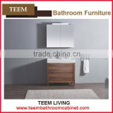 2016 hot sales new design italian style modern Multi layer solid wood home furniture Sanitary bathroom mirror cabinet