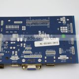 MP19 driver board with HDMI , VGA , USB input for multimedia device , usb lcd controller board