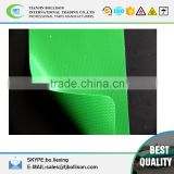 Green / White Fire Proof (Flame Retardant )PVC Coated Tarpaulin Fabric for Truck/Container Side Curtain 900G Tarps 1000D 30*30