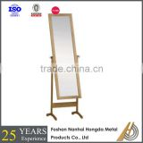 MDF frame floor stand dressing mirror for sale