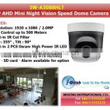 IW-A3088HLT 1080P Mini Auto Focus AHD PTZ Camera