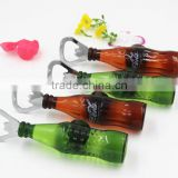 Colorful Mini Bottle Beer 3D Fridge Magnet / Beer bottle openner/Yiwu sanqi crafts factory