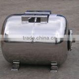 Horizontal Stainless Steel Water Pressure Tank