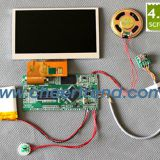 4.3 inch TFT lcd video greeting card sound module,tft 480x272 lcd module video card brochure