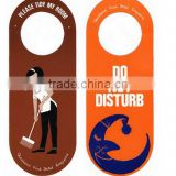 2015 plastic Door handle sign Do Not Disturb
