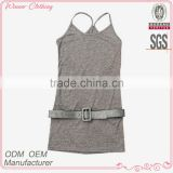 2015 new design high quality best price cami elegant /stylish women fashion beach blouse