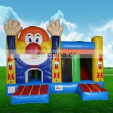 2017 Hot sale inflatable bouncer clown/inflatable clown bouncy castle/clown inflatable bouncers
