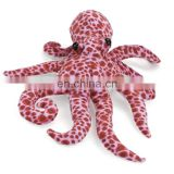Plush stuffed Octopus 14 inch Mini Purple Rattle Baby Smiley Face Stuffed sea animals