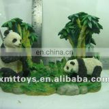 lifelive resin panda sculpture