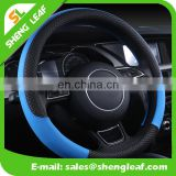 2016 hot selling custom printed logo car silicone steering wheel cover