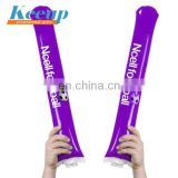 Custom Inflatable PE Cheering Bangbang Air Thunder Noise- stick, Pom Pom for Events Fan