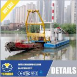300 cube meter per hour capacity of cutter suction dredger for river cleaning