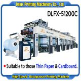 High Speed Computerized Automatic Paper Rotogravure Printing Machine (DLFX-51200C)