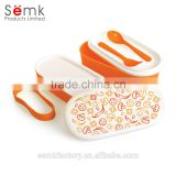 Portable lunch box mini custom lunch box multi-layer pp lunch box