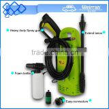 (1043) compact size 130bar high pressure car washing machine, portable high pressure car washer