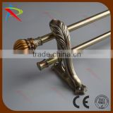 Home decorative window accessories dual/double curtain rod                                                                         Quality Choice