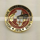 2014 Custom Soft Enamel Metal Badge /Custom Soft Enamel Glitter Baseball Trading Pins Factory