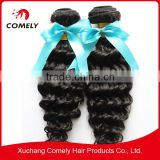 Brazilian Kinky Curly Virgin Hair Unprocessed Human Hair Weave Curly Natural Color Full Cuticle