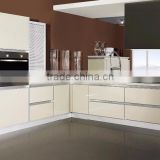 Modern Kitchen Cabinets in Solid Wood Material Stain Color Kitchen Cabinets Design with(KC-014)