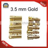 Gold Banana Connector 3.5mm Banana Plug