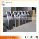17'' queue number machine/ticket dispenser machine queue floor stand kiosk