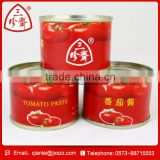 Professional Factory Made Can/Tin 70g price canned tomato paste