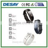Desay Multi-function Pedometer Call/SMS DS-B521 Smart Band with Heart Rate for iOS 7.1 + Android 4.3 +