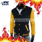 Korea Style Quality Slim Fit Varsity Wool Jackets Baseball Jacket Letterman Jacket Wholesale