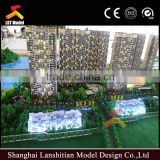3d visual residential building models/ house models for exhibition