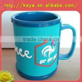 plastic cartoon mug with detachable 2D PVC plate                                                                         Quality Choice