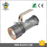 JF Factory Direct LED portable lights rechargeable flashlight camping lamp high power searchlight
