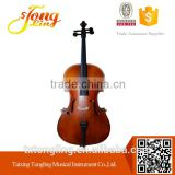 Handmade Antique Matte Cello With Case Popular Cello 4/4 ( TL011)