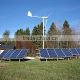 HYBRID! 5kw wind turbine + 2kw/3kw/5kw solar wind power hybrid system, home wind solar hybrid power system 7kw 8kw 10kw                                                                         Quality Choice