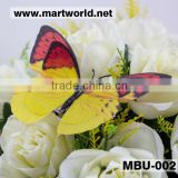 colorful plastic artificial butterfly wedding decoration butterfly event party (MBU-002)