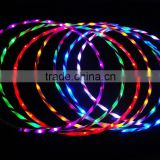 28 Inch LED Lighted Twist lighted led hula hoop Cosmic Glow Hoola Hoop
