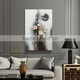 Oil painting arts abstract handmade fashional 3D resin relief decor painting on canvas .