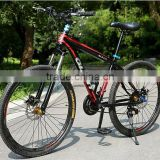 24 speed 26 inches mountain bicycle aluminum alloy frame wholesale teenager double disc brake